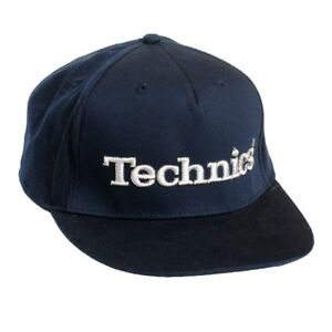 Technics DJ Snapbacks  - Officially Licensed - Ltd Edition - Navy Blue