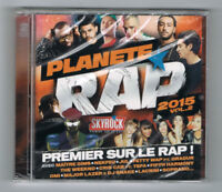 ♫ - PLANÈTE RAP 2015 - VOL. 2 - 2 CD SET - NEUF NEW NEU ♫