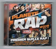 ♫ - PLANÈTE RAP 2015 - VOL. 2 - 2 CD SET - NEUF NEW NEU ♫