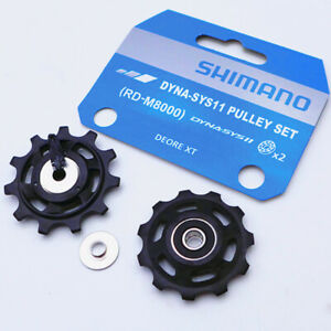 Shimano Deore-XT RD-M8000 Dyna-Sys11 11-Speed Pulley 11T Bicycle Jockey Wheels