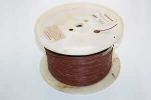 WireMasters 3555 FT Tinned Copper Split Wire 16 AWG 600V M81044/12-16-1 Brown