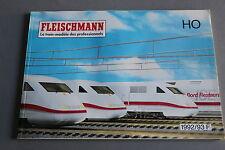 X071 FLEISCHMANN Train catalogue 1992 93 140 pages 29,7*21 cm F