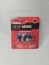 COMPLY HEAR MORE ISOLATION EARPHONE TIPS