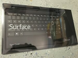 Microsoft Surface Pro 1/2 RT Type Cover Keyboard Model 1535   Black