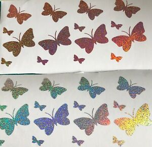 Butterfly Vinyl Stickers Delviered Next Working Day