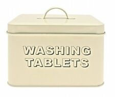 Washing Tablets Cream Storage Tin By Lesser & Pavey Home Household Supplies Coo