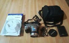 Olympus SP-800UZ 14MP Digital Camera 30x Zoom Excellent Condition - Accessories