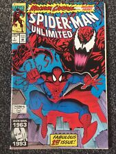 Spiderman Unlimited #1 1993 First Appearance Of SHRIEK Carnage Venom Movie Sony