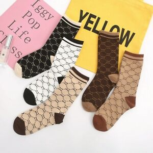 NEW Cotton G g Socks Design One Size Fits 100% NEW