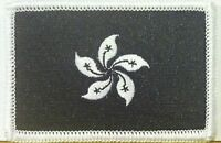 HONG KONG Flag Patch Black & White W/ VELCRO® Brand Fastener Tactical Morale #3