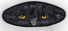 Sioux Council (SA-15) CSP, Wolf Face, OA Campership 2000, Mint!