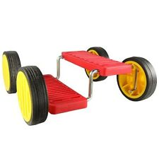 Pedal Go - Fun Pedal Balance Toy - Circus Skills Pedal Racer - Red