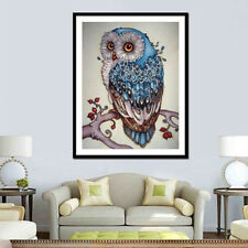 DIY 5D Diamond Painting Beauty Owl Embroidery Cross Crafts Stitch Home Decor Kit