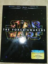 Star Wars: The Force Awakens (Blu-ray/DVD, 2016, DIGITAL COPY