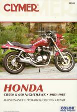 Honda CB550SC CB650SC Nighthawk 1983-1985 Clymer Workshop Manual Service Repair