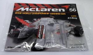 Kyosho Kits 1/8 scale Diecast 056 McLaren MP4-23 F1 Magazine subscription part
