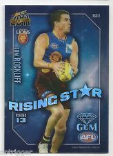 2011 Select Champions Rising Star Gem (RSG13) Tom ROCKLIFF Brisbane +++