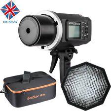 UK Godox AD600BM 600w HSS 1/8000s 2.4G Outdoor Flash Light +Softbox + CB-09 Case