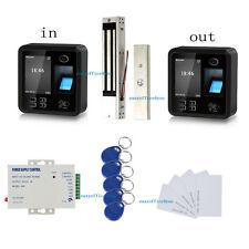Sistema de control de acceso de huellas dactilares y bloqueo magnético