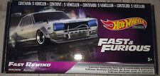 Hot Wheels Fast And Furious Fast Rewind Real Riders Culture Ed. Coleccionista