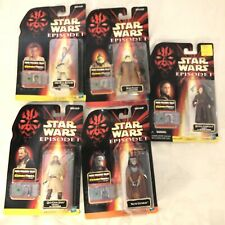 Lot of 5 Star Wars Episode 1 Electronic Commtech Reader Figures Vintage 1998