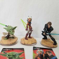 Disney Infinity Star Wars Figures Cards Yoda Twilight Of Republic Crystal