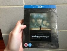 Saving Private Ryan Steelbook (Blu-ray) Uk Play.com Exclusive Rare Oop Sold Out