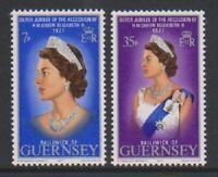 Guernsey - 1977, Silver Jubilee set - MNH - SG 149/50