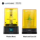 Anycubic Photon Mono LCD Photocuring UV 3D Printer / Wash and Cure 2.0 Machine
