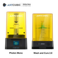 New ANYCUBIC Wash & Cure 2.0 All in One Machine + Photon Mono LCD SLA 3D Printer
