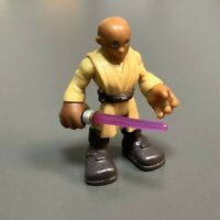 Playskool Star Wars Galactic Heroes Jedi Force MACE WINDU From JANGO FETT Toys