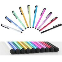 Screen Touch Pen For iPhone IPad Tablet PC Samsung Plastic Stylus 10x 10 Colors