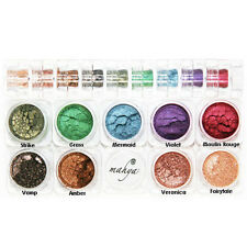 "MAHYA Pure Mineral Vegan Makeup Eye Shadow Pigment 9 Stackable Colors ""Winter"""