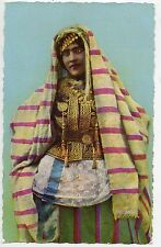 CARTE POSTALE / POSTCARD / ALGERIE LOT 4 CARTES FEMME MAURESQUE / DIVERS VUES