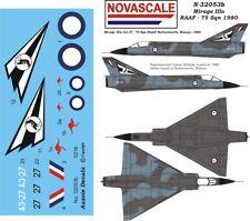 RAAF Mirage IIIo Mini-Set Decals 1/32 Scale N32053b