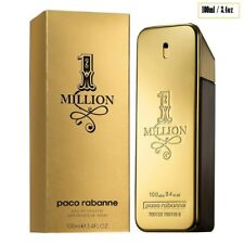 1 One Million 3.4oz 100ml Men Eau de Cologne Paco Rabanne Perfume Fragrances Edt