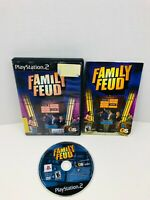 Family Feud Sony PlayStation 2 PS2 Video Game Complete With Manual