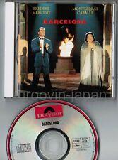 Freddie Mercury & Montserrat Caballé Barcelona JAPAN CD POCP-1229 No Insert