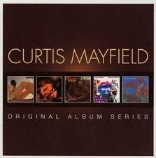 CURTIS MAYFIELD - Original Album Series -- 5 CD  NEU & OVP