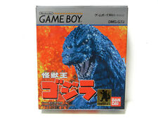 """Kaijyuou GODZILLA"" Game Boy GB Japan ver ""Box and manual! Rare!"