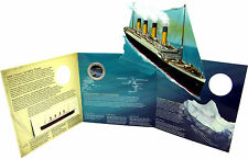 2012 Canada Specimen with Coloured Twenty-Five 100 years Later- Story of Titanic