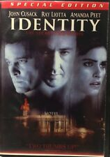 Identity DVD - John Cusack, Ray Liotta - Region 1 AS NEW