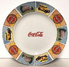 "Coca Cola Dinner Plate Player Gibson Coke 11.5"" Bar Kitchen Decor Soda"