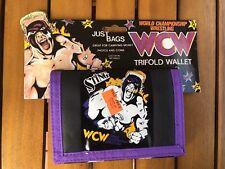 Sting WCW Tri Fold Wallet Wrestling World Champion Wrestler NWA WWE WWF