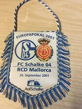 Schalke Vs Rcd Mallorca Europapokal 2001 Banner Wimpel