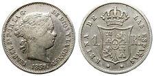 ISABEL II. 1 REAL. 1859. MADRID.