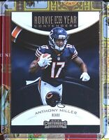 Anthony Miller Rookie of the Year RC - CHICAGO Bears! 2018 Contenders Football