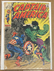 Captain America #110, 1st Madame Hydra, 1st Rick Jones as Bucky, Steranko Art