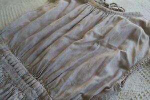 Gorman Size 12 Beige Linen Look Summer Dress EUC