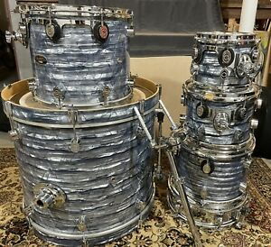 """PDP (Pacific) CX Series Drumset, Drums, Shell pack 8, 10, 12, 14, 22, + 13"""""""